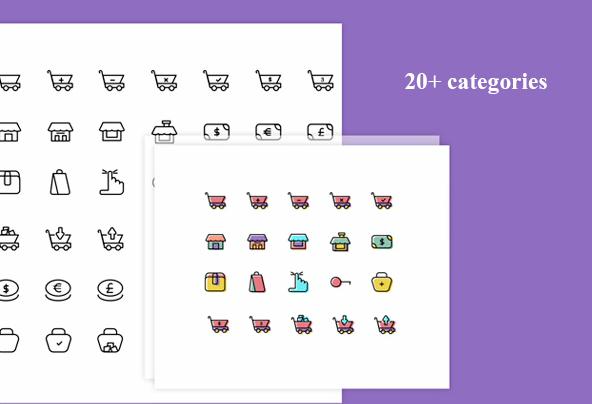 pack d'icones gratuit Thousands