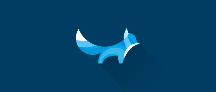 Flat-blue-Fox