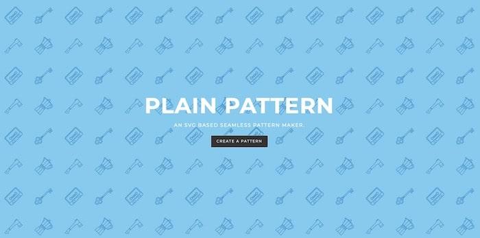 Plain Pattern générateur motif png svg