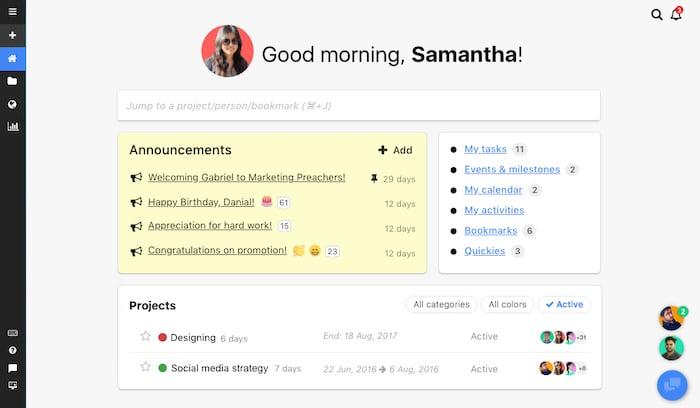 ProofHub logiciel gestion de projet