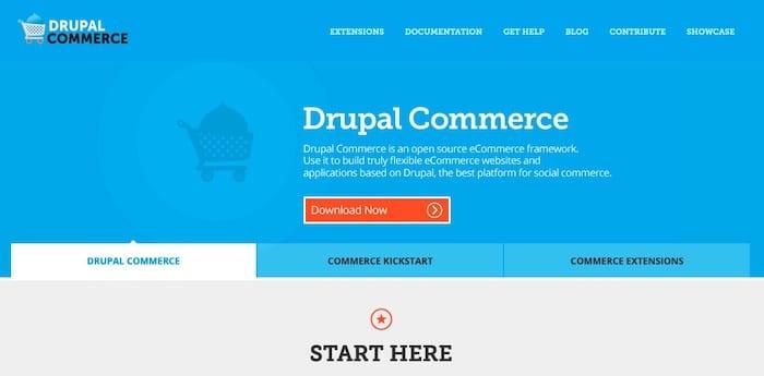 Drupal Commerce, solution pour créer un site e-commerce gratuit