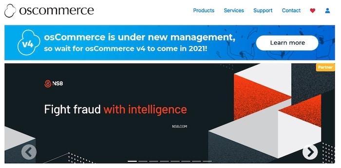 OsCommerce, plateforme pour créer un site e-commerce gratuit