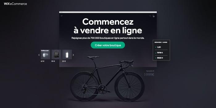 Wix site e-commerce
