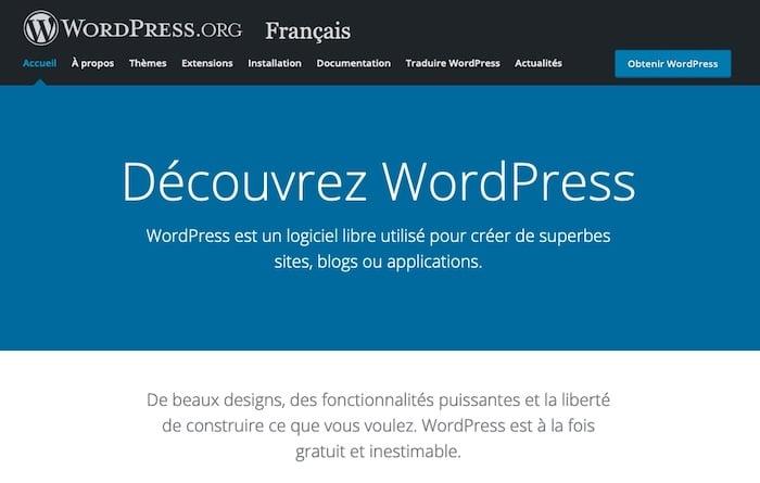WordPress, plateforme pour créer un site e-commerce gratuit