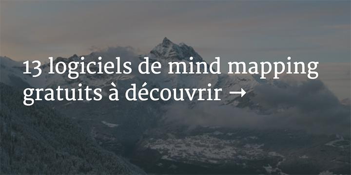 logiciel mind mapping