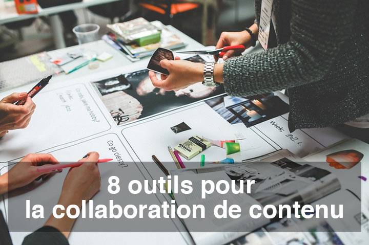 collaboration de contenu