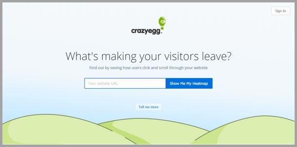 Crazy-Egg-landing-page