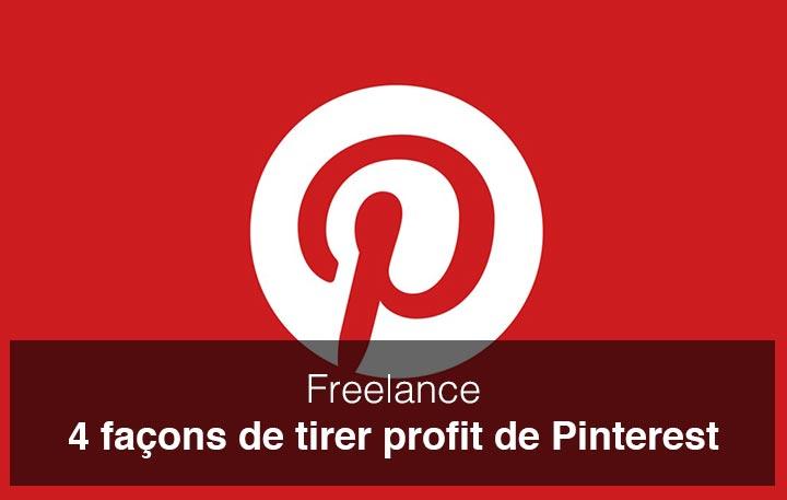 4 façons de tirer profit de Pinterest