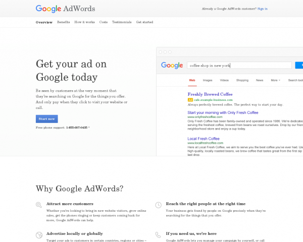 Google AdWords | Google (PPC) Pay-Per-Click Online Advertising