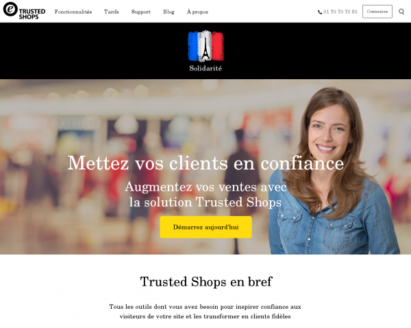 Avis clients & marque de confiance | Trusted Shops