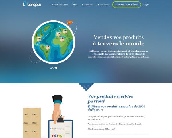 Lengow - Gestion de flux produits pour e-commerce