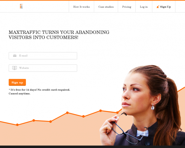 MaxTraffic - Turn your abandoning visitors into customers | MaxTraffic