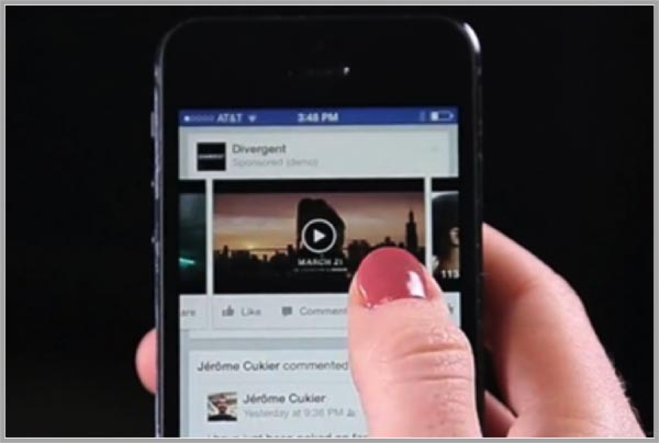 Facebook-on-mobile-for-mobile-video-advertising