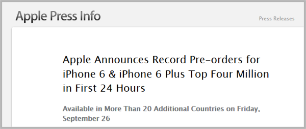 Apple-Pre-Orders-Pre-Launch-Buzz