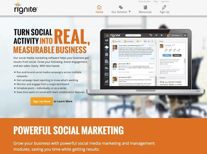 Rignite outil gestion des commentaires réseaux sociaux