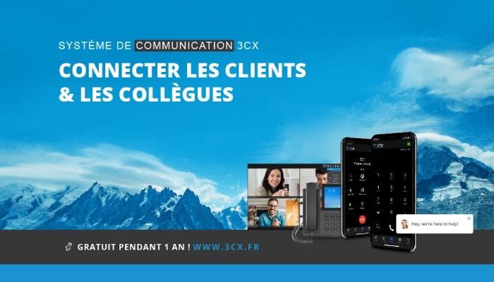 3CX solution de communication en entreprise