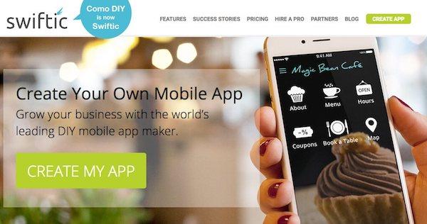 créer une application mobile avec un générateur