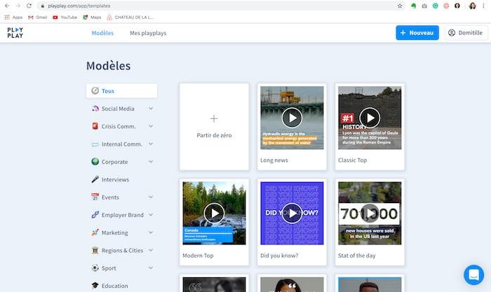 PlayPlay logiciel vidéo marketing