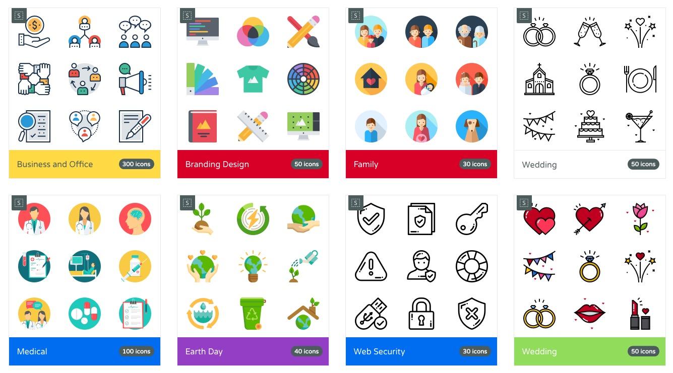 Bekannt 6 outils gratuits pour trouver des icônes GH96