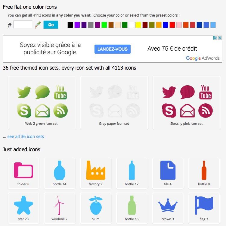 6 outils gratuits pour trouver des ic u00f4nes