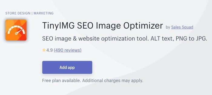 optimisation SEO des images sur Shopify