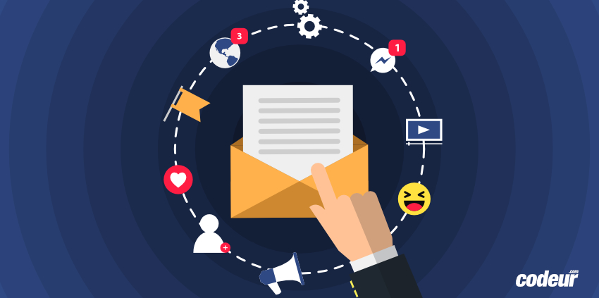 email et social media