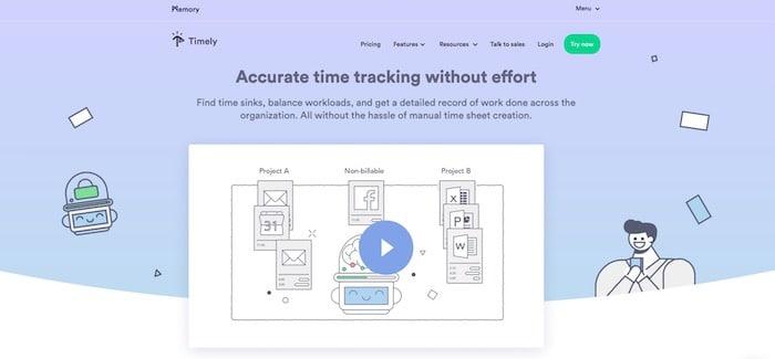 Timely outil de time tracking et gestion du temps
