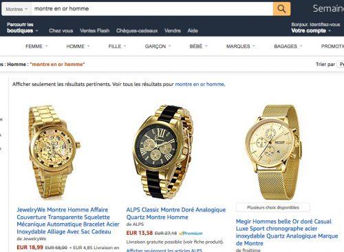 Titre produit Amazon