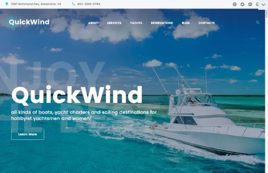 Thème WordPress pour site de voyage