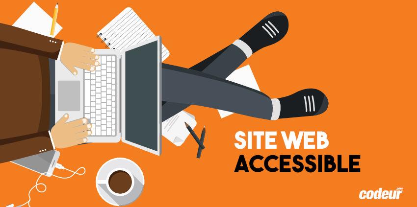 Accessibilité d'un site web