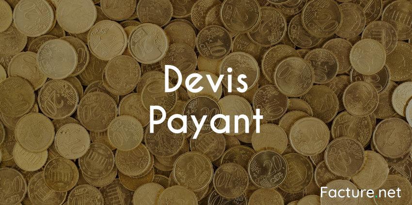devis payant