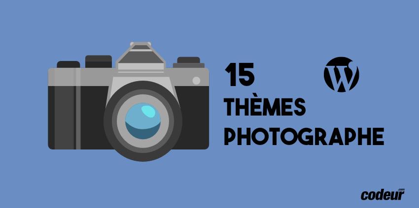 Sélection de thèmes WordPress pour photographe