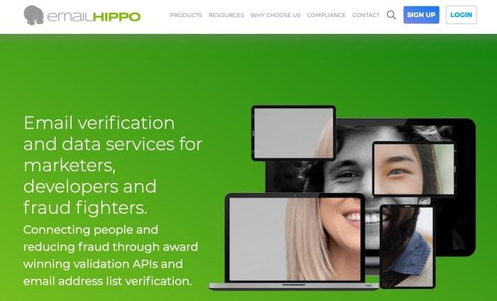 Logiciel de nettoyage de mailing liste Email Hippo