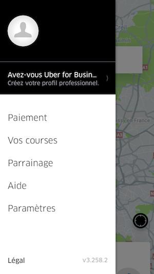 Utilisation du menu hamburger pour la navigation mobile