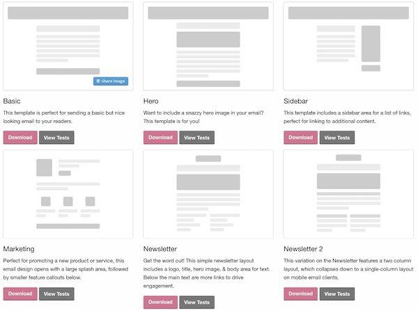 72 templates email gratuits à découvrir