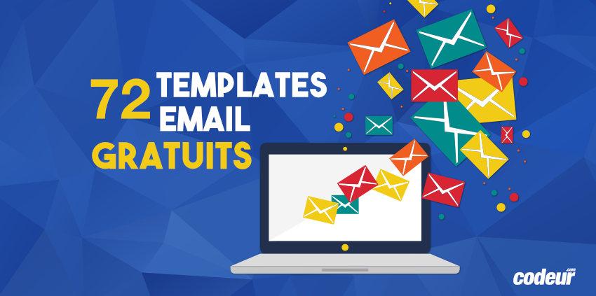Sélection de templates email gratuits