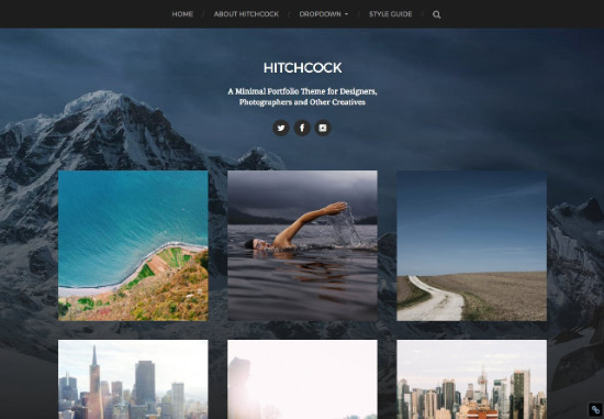15 th u00e8mes wordpress gratuits pour cr u00e9er un portfolio