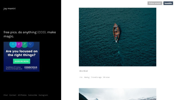 Site d'images libres de droits