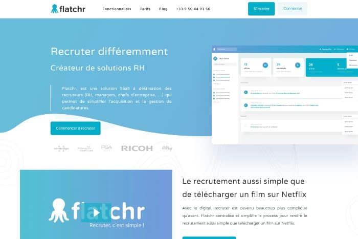 Flatchr : logiciel de recrutement