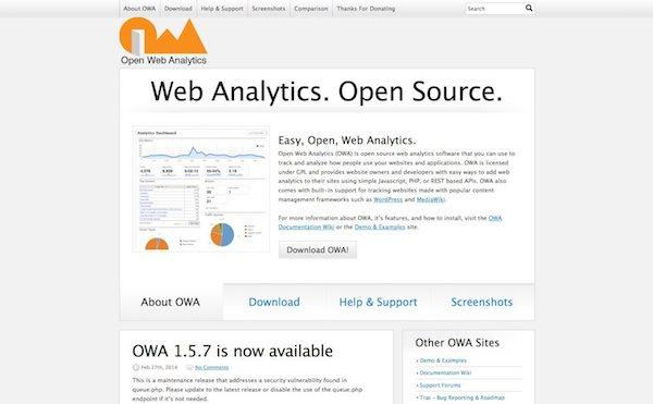 Open Web Analytics, alternative à Google Analytics