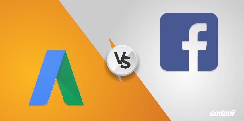 comparatif adwords facebook ads