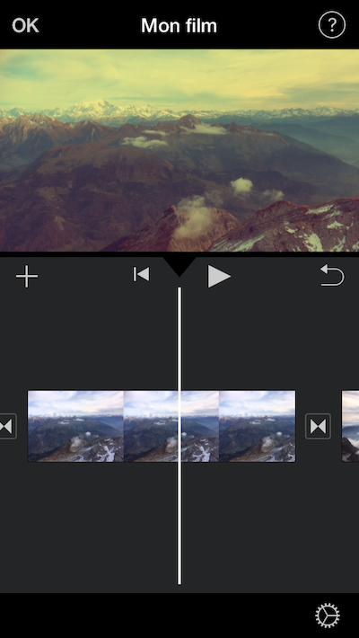 Montage vidéo gratuit ios