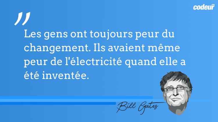 Inspiration 20 Citations De Bill Gates Sur L Entreprise Et