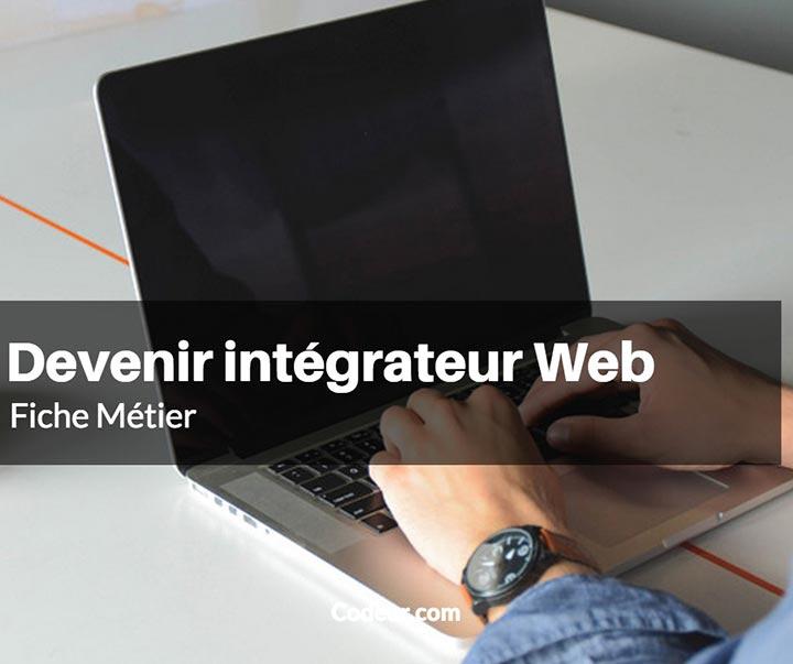 Comment devenir integrateur web