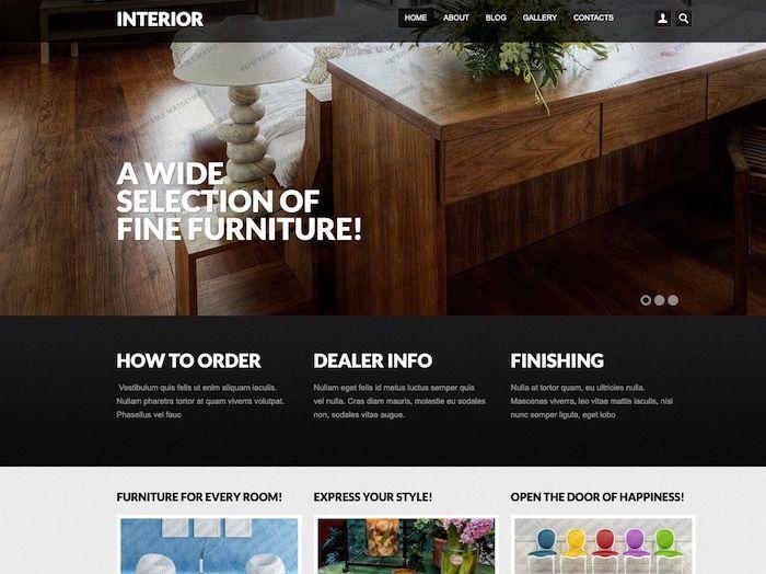 Interior thème Drupal gratuit