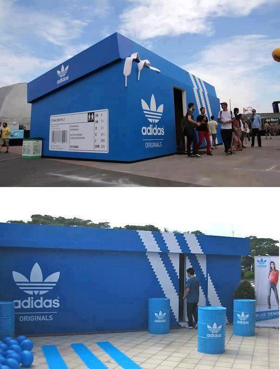 pop-up store adidas