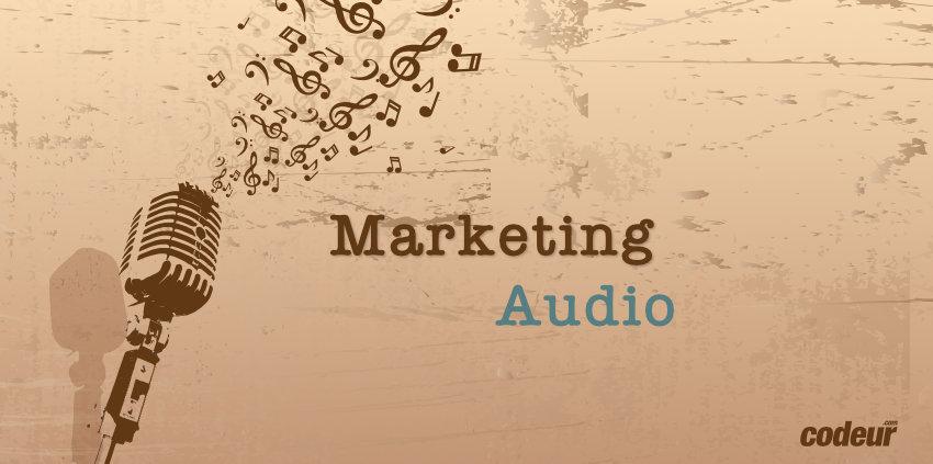 marketing audio