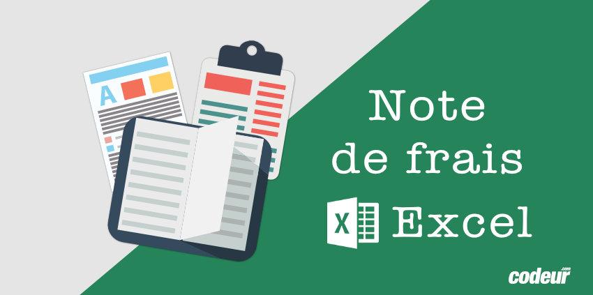 Modele De Note De Frais Excel A Telecharger Gratuitement