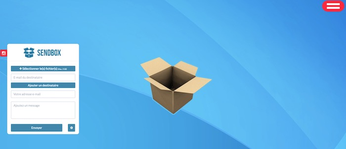 Sendbox transfert fichiers