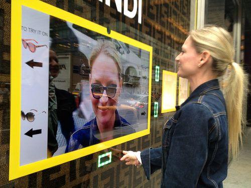street marketing écran